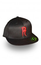 Radical Flexfit Hat- Red R Logo