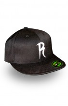 Radical Flexfit Hat- White R 
