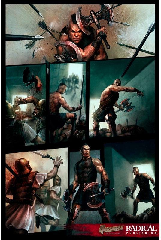 Hercules: Thracian Wars TPB  Hercules: Thrac...