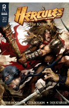 Hercules:  Knives Of Kush #2