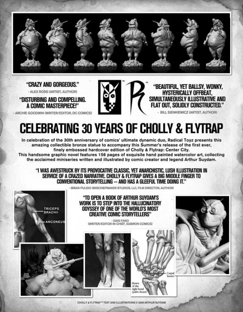Cholly Flyer Back