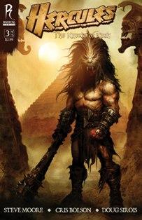 Hercules the thracian wars comic amazon